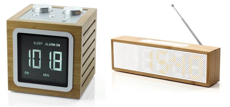 Radio réveils design par Lexon