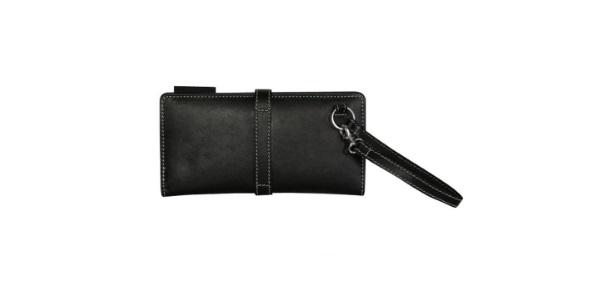 portefeuille cuir vachette noir