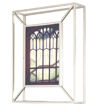 cadre-photo matrix nickel umbra design