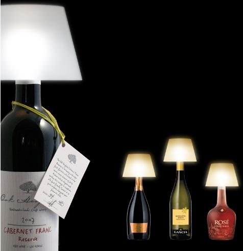 lampe abat-jour vin alife design