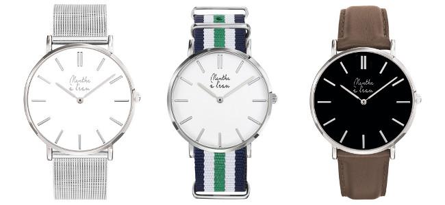 menthe a leau montres design