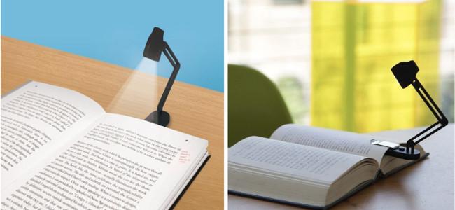 lampe de lecture slim kikkerland