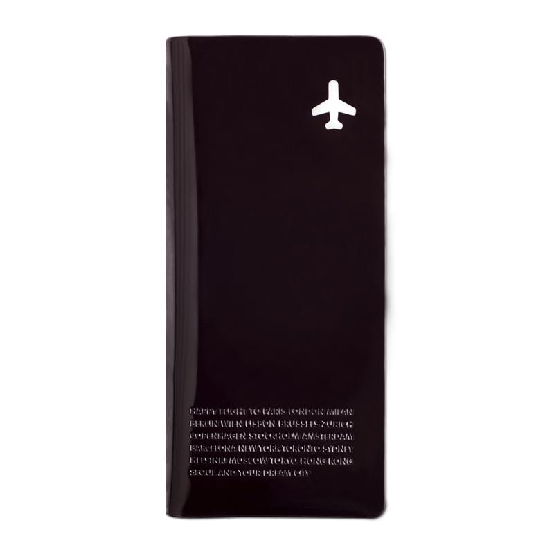 organiseur de voyage happy flight noir alife design
